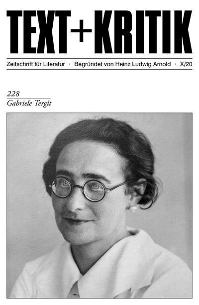TEXT + KRITIK 228 - Gabriele Tergit