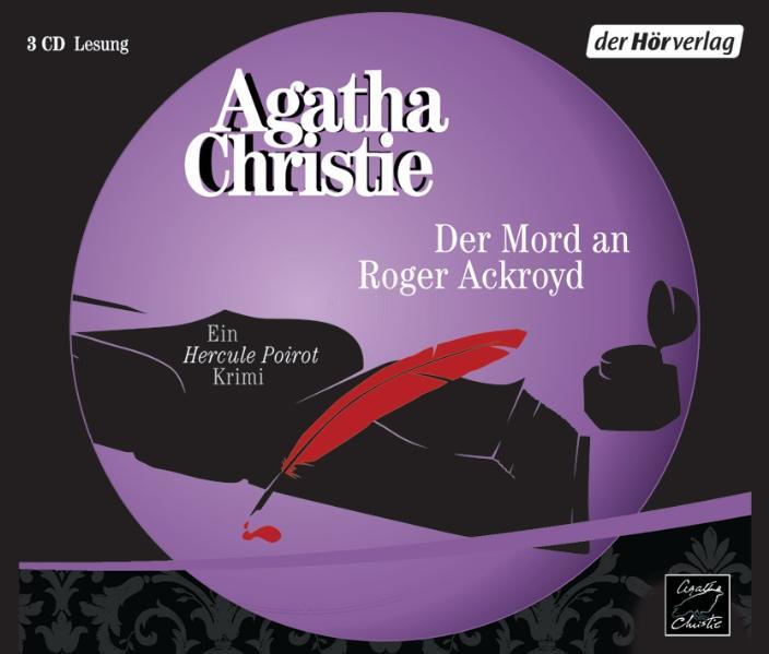 Der Mord an Roger Ackroyd. 3 CDs Agatha Christie