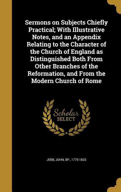 SERMONS ON SUBJECTS CHIEFLY PR