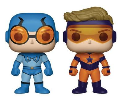 Pop Booster Gold and Blue Beetle Vinyl Figure 2 Pack