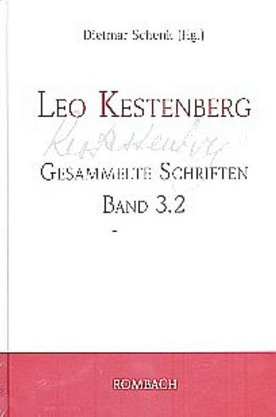 Leo Kestenberg  Gesammelte Schriften Band 3.2