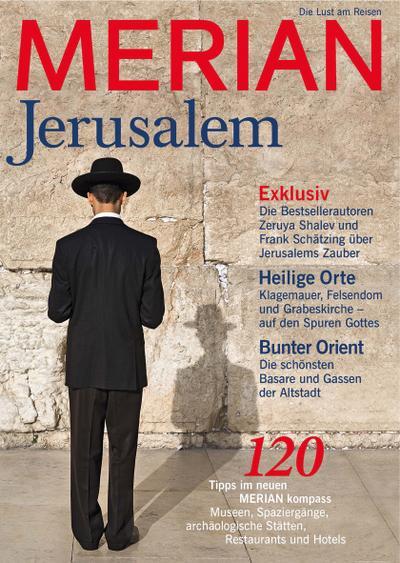 MERIAN Jerusalem; MERIAN Hefte; Deutsch