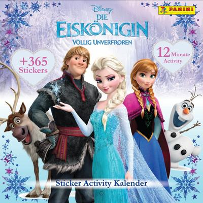 Disney Die Eiskönigin - Völlig Unverfroren, Sticker-Activity-Kalender