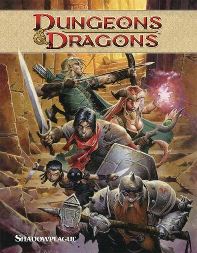 Dungeons & Dragons Volume 1: Shadowplague TP