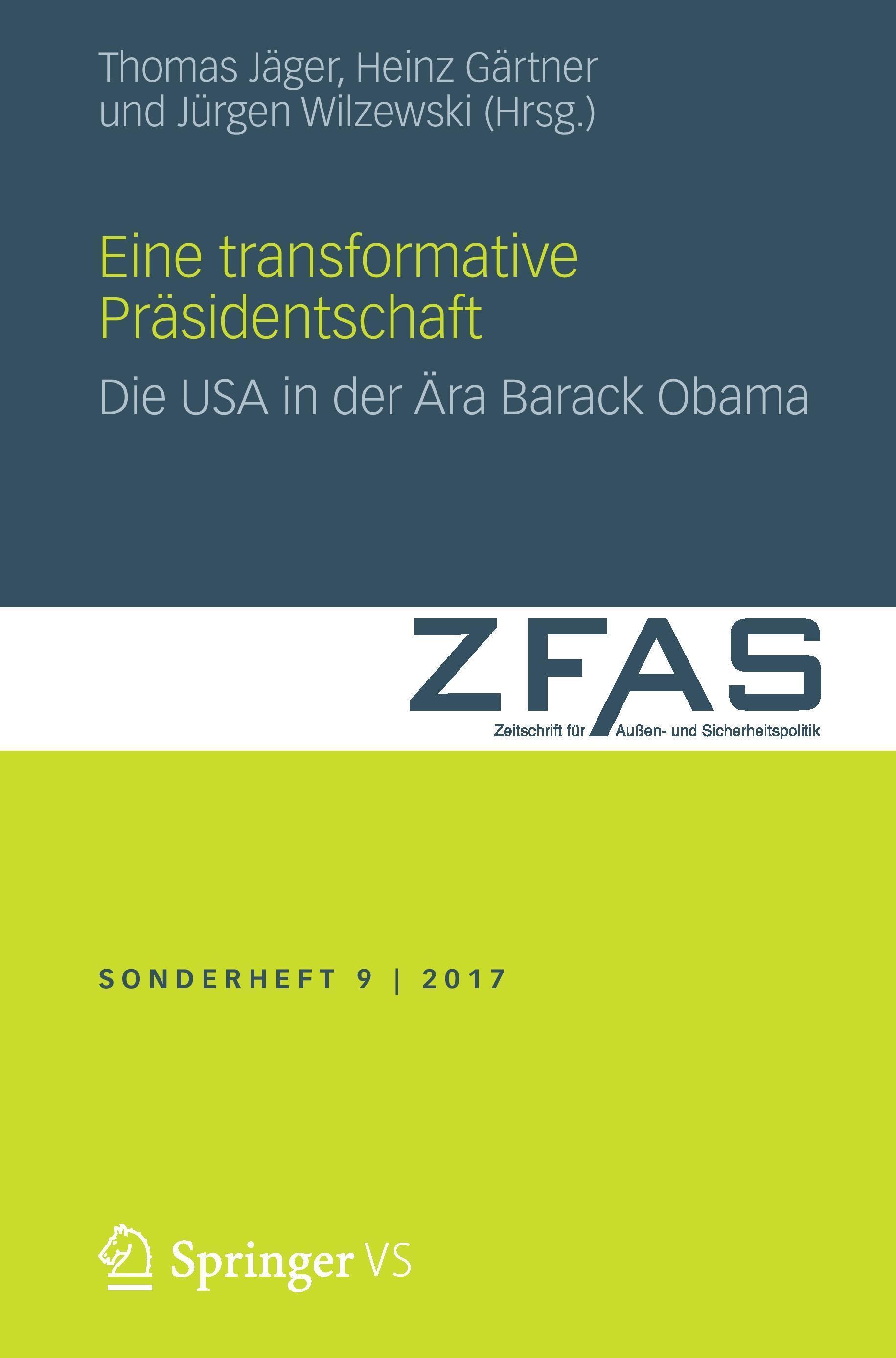 Eine transformative Präsidentschaft, Thomas Jäger
