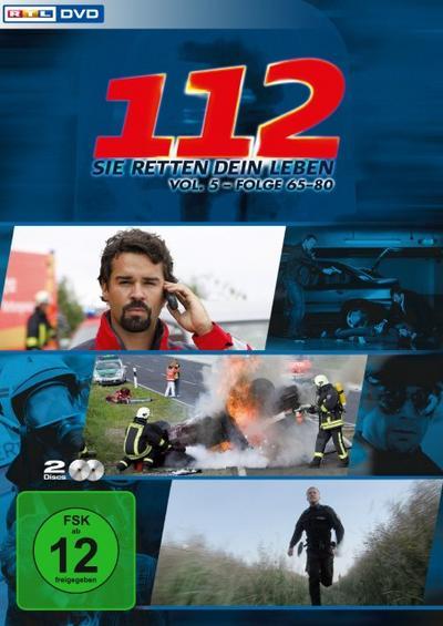 112 - Sie retten dein Leben - Volume 5 - 2 Disc DVD