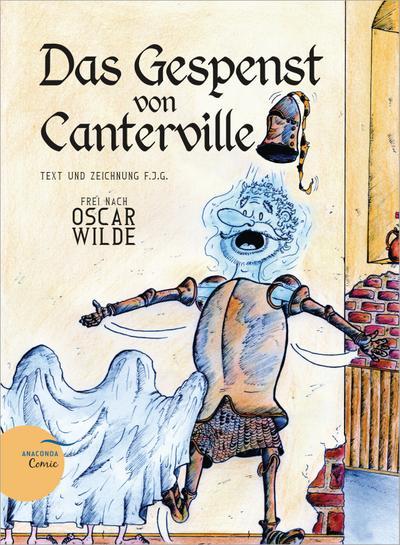 Das Gespenst von Canterville (Ein Anaconda-Comic)