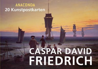 Kunstpostkartenbuch Caspar David Friedrich
