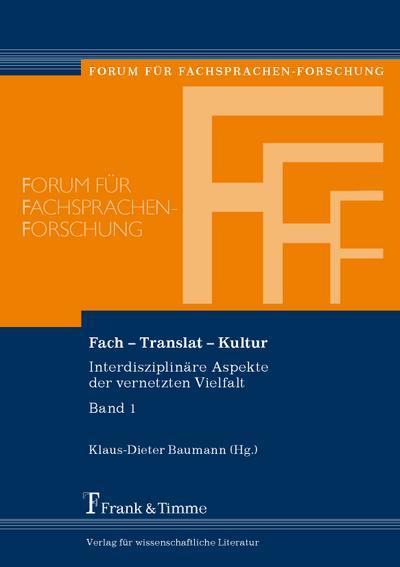 Fach - Translat - Kultur