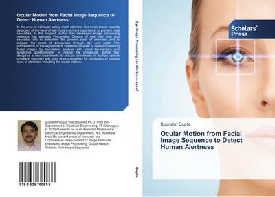 Ocular Motion from Facial Image Sequence to Detect Human Alertness