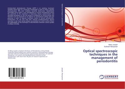 Optical spectroscopic techniques in the management of periodontitis