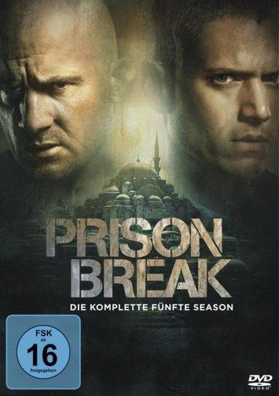 Prison Break - Die komplette Season 5 [3 DVDs]
