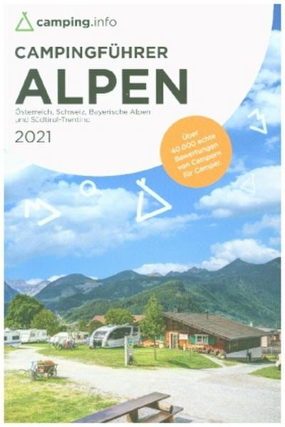 camping.info Campingführer Alpen 2021