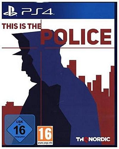 This is the Police, 1 PS4-Blu-ray Disc