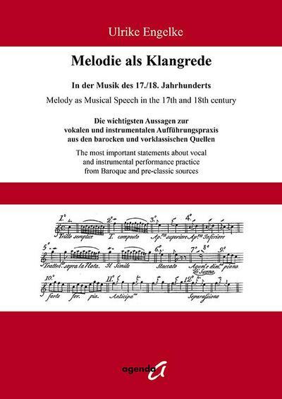 Melodie als Klangrede. In der Musik des 17./18. Jahrhunderts
