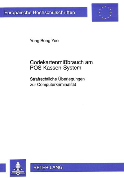 Codekartenmißbrauch am POS-Kassen-System