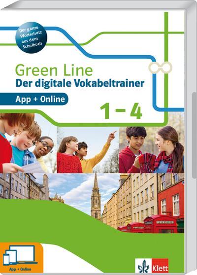 Green Line 1-4. Der digitale Vokabeltrainer App + Online