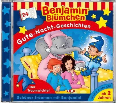 Benjamin Blümchen. Gute-Nacht-Geschichten 24. Der Traumwichtel