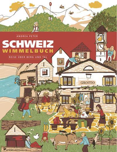 Schweiz Wimmelbuch