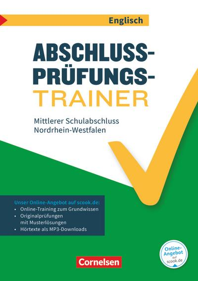 Abschlussprüfungstrainer Englisch - Nordrhein-Westfalen