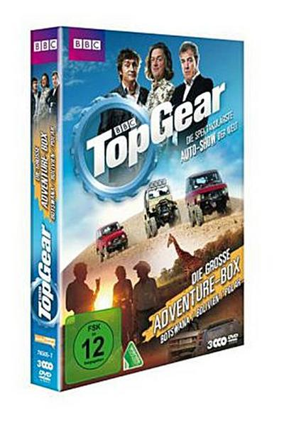 Top Gear - Die große Adventure-Box (Botswana / Bolivien / Polar)