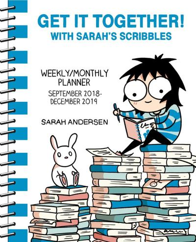 Sarah's Scribbles 2018-2019 16-Month Weekly / Monthly Planner