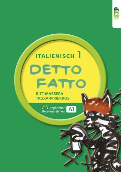 Detto fatto - Italienisch, Band 1,  Lehrbuch