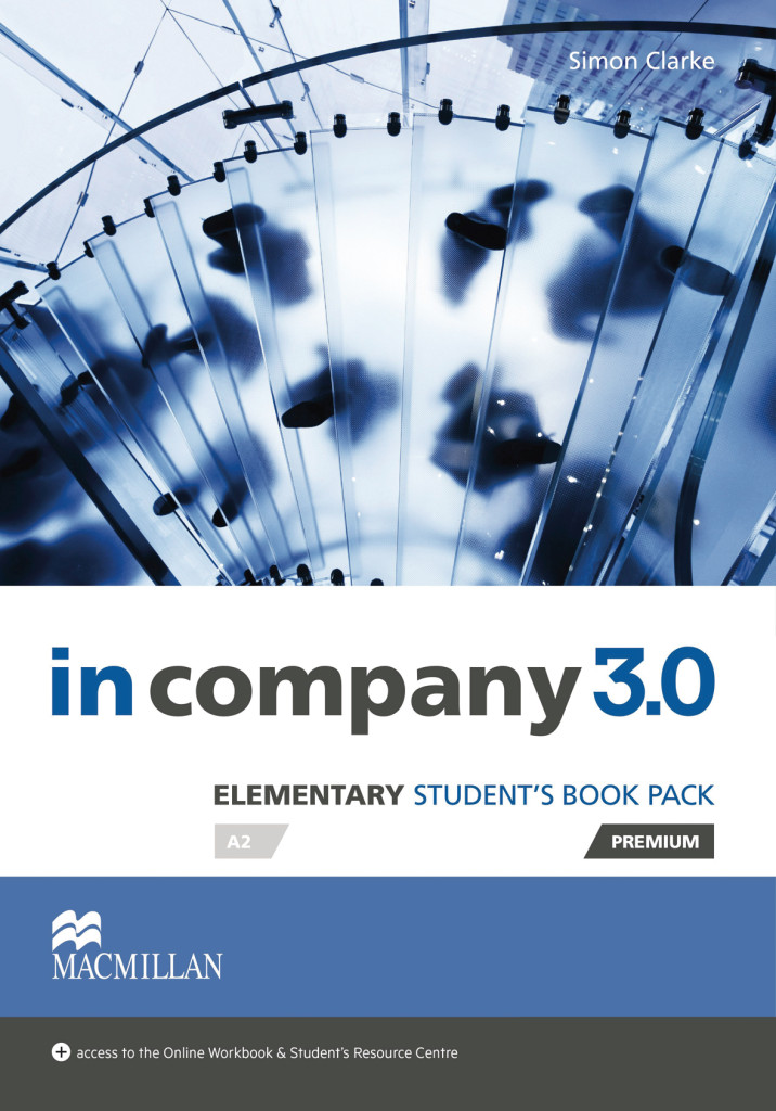 Elementary in company 3.0. Student's Book with Webcode Simon Clarke