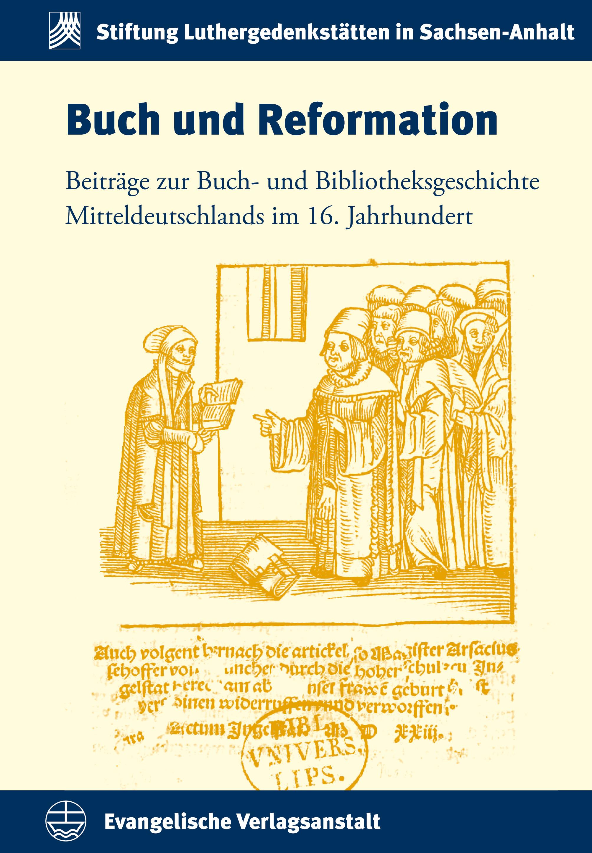 Buch und Reformation Enno Bünz