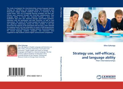 Strategy use, self-efficacy, and language ability