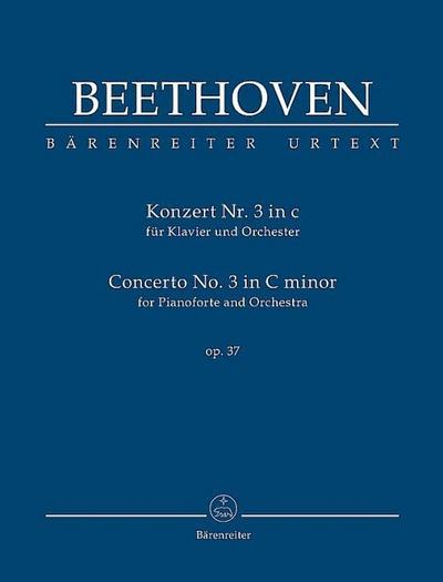 Konzert für Klavier und Orchester Nr. 3 c-Moll op. 37