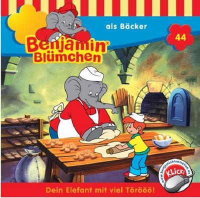 Benjamin Blümchen 044. als Bäcker. CD