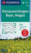 Donaueschingen, Baar, Hegau 1:35 000