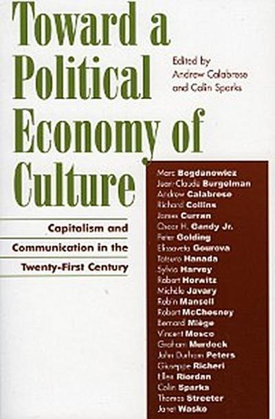 Toward a Political Economy of Culture