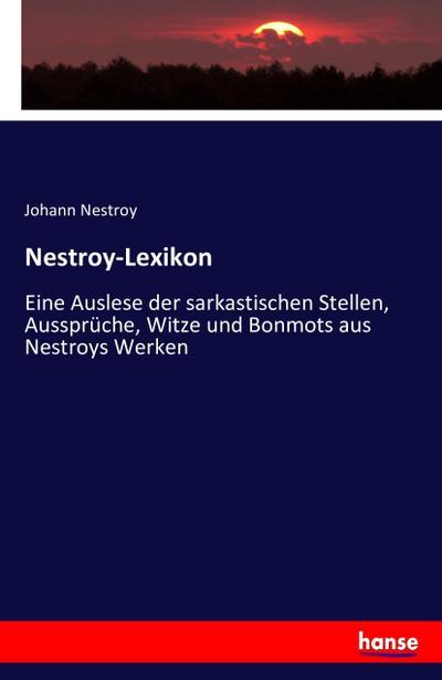 Nestroy-Lexikon