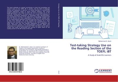 Test-taking Strategy Use on the Reading Section of the TOEFL iBT