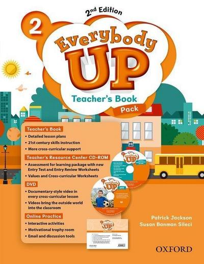 Jackson, P: Everybody Up: Level 2: Teacher's Book Pack with