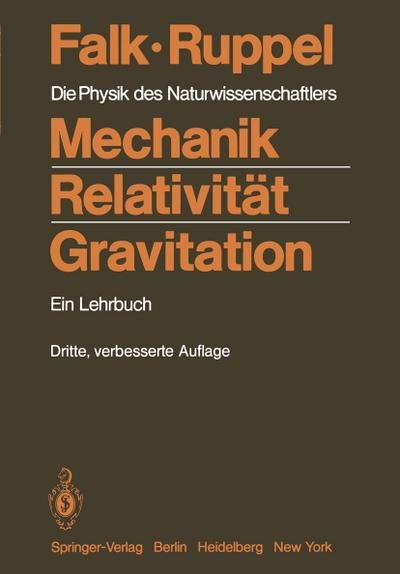 Mechanik, Relativität, Gravitation