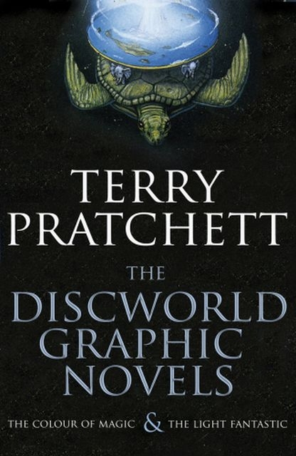 Terry Pratchett ~ The Discworld Graphic Novels: The Colour of  ... 9780385614276