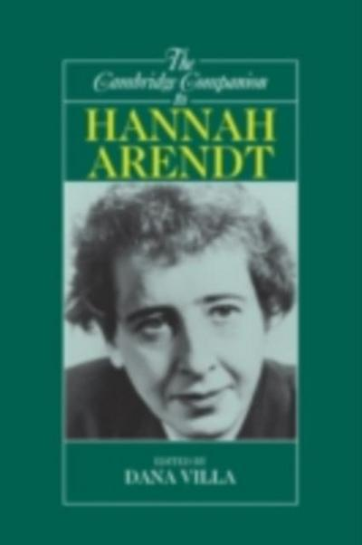 Cambridge Companion to Hannah Arendt