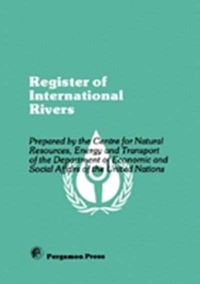 Register of International Rivers