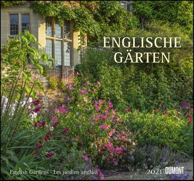 Englische Gärten 2021 - DUMONT Garten-Kalender - mit allen wichtigen Feiertagen - Format 38,0 x 35,5 cm