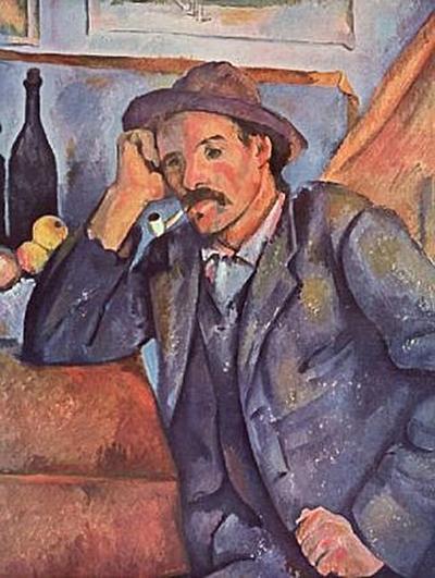 Paul Cézanne - Mann mit der Pfeife - 200 Teile (Puzzle)