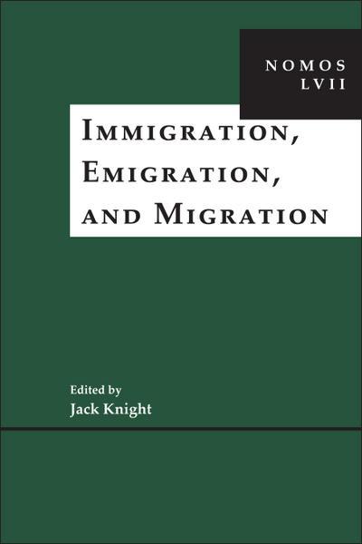 Immigration, Emigration, and Migration