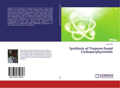 Synthesis of Tropone-fused Carbaporphyrinoids