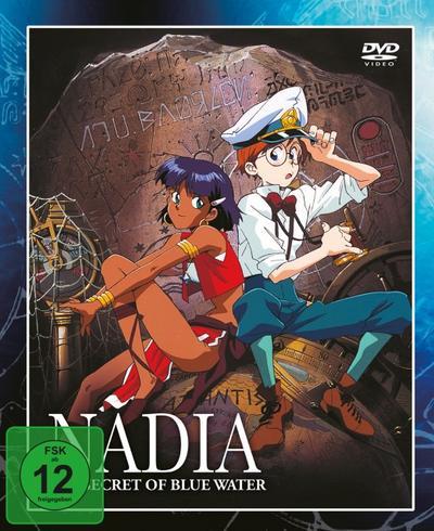 Nadia und die Macht des Zaubersteins - Box 1 DVD-Box