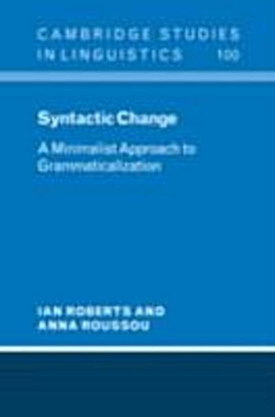 Syntactic Change