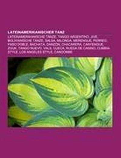 Lateinamerikanischer Tanz