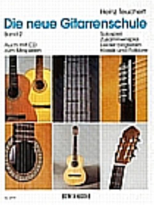 Die neue Gitarrenschule Band 2 Heinz Teuchert