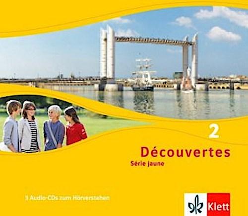 Découvertes Série jaune 2. Audio-CD